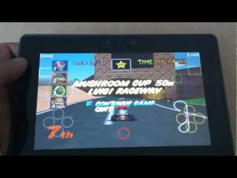 Blackberry Playbook - Nintendo 64 Emulator - Review