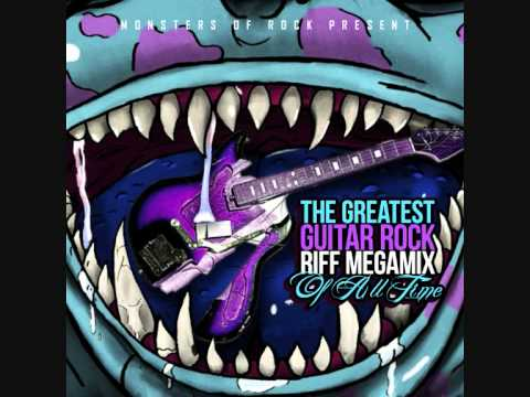 The Greatest Guitar Rock Riff Megamix Of All Time