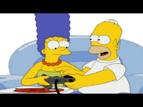 MARGE hazme el Amor Homero - Parte 6