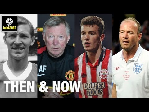Famous Footballers Then And Now | Beckham, Fergie And More!