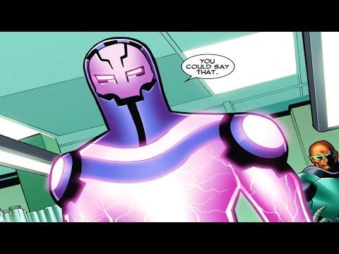 Supervillain Origins: Living Laser