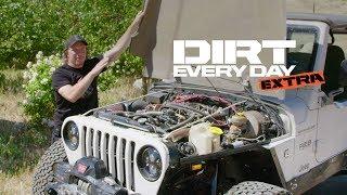 The Story Behind Tube Sock's Custom Fiberglass Hood - Dirt Every Day Extra
