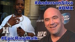 Dana White + DMX On An Epic Anderson Silva Comeback (HD)