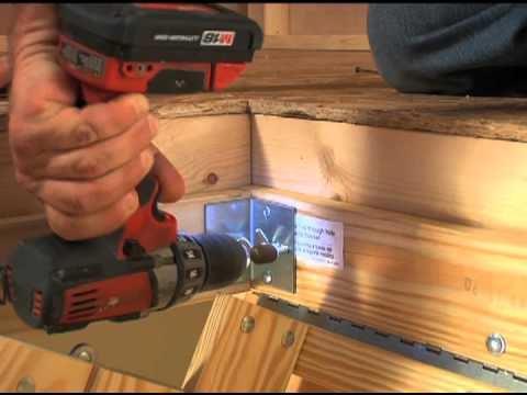 Werner Wood Attic Ladders Short Installation Video Youtube