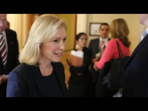 Sen. Gillibrand claims colleagues made sexist comments about her weight