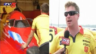 F1H2O Amaravathi Power Boat Reaches Vijayawada | Team Lead Jonas Andersson Face To Face