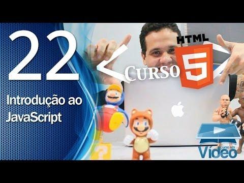 Curso de HTML5 - 22 - Introdução ao JavaScript