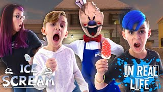 ICE SCREAM Horror Game IN REAL LIFE! Escape Rod's House
