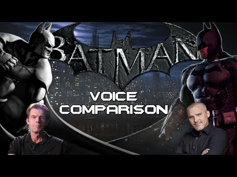 Batman Voice Comparison - Kevin Conroy and Roger Craig Smith