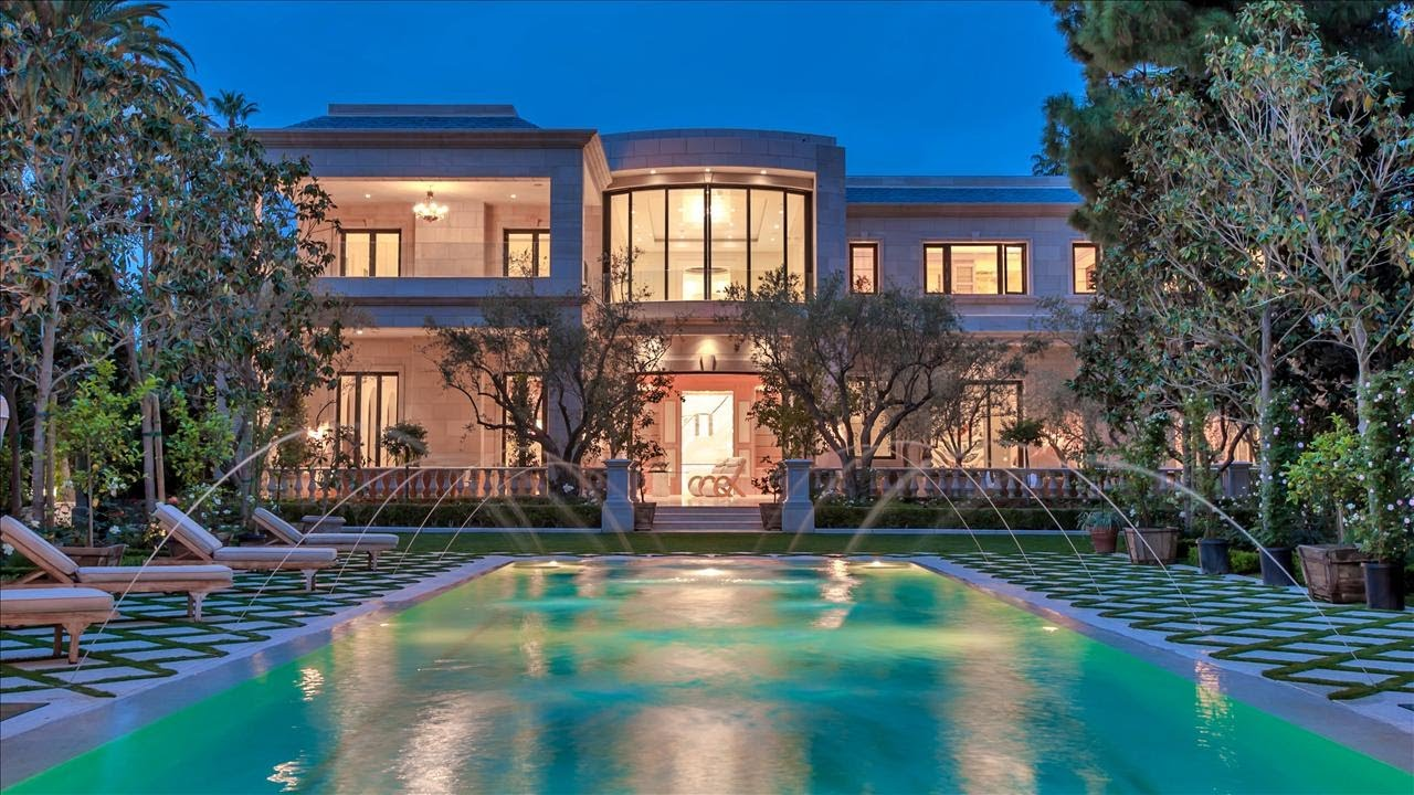 Beverly Hills Mansion Lists For 58 Million Youtube