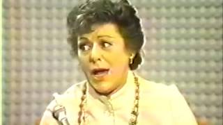 Lillian Roth, 1971 TV Medley and Interview