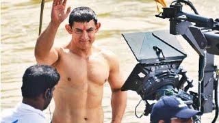 PK | Aamir Khan 8 Pack Abs Body Revealed