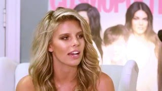NATASHA OAKLEY BEHIND THE SCENES AT COSMOPOLITAN COVER SHOOT