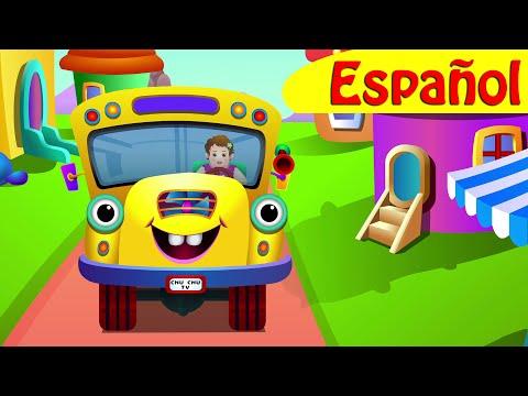 Las Ruedas del Autobús (PARTE 1) Canciones Infantiles Populares   ChuChu TV
