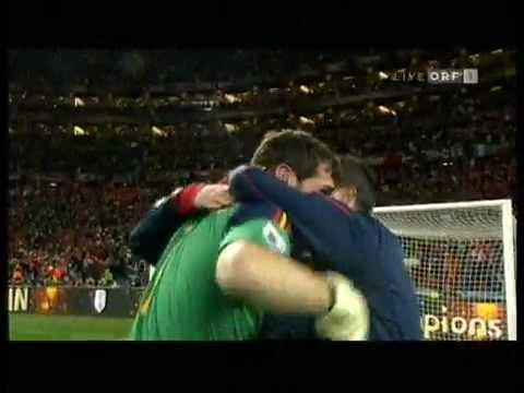 Iker Casillas Crying so much Spain vs Netherlands