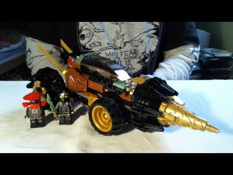 LEGO Live Construction : Ninjago's Cole's Earth Driller [Français]