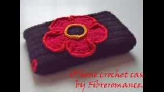Crochet iPhone case by Fibreromance