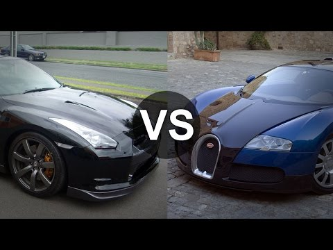 nissan skyline gtr vs bugatti veyron drag race. Black Bedroom Furniture Sets. Home Design Ideas