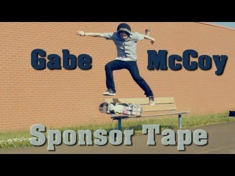 Gabe McCoy Sponsor Tape