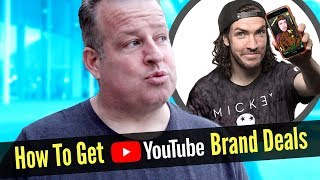 How to Get Sponsored with Brand Deals for Your YouTube Videos