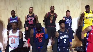 Download The NBA unveiled new alternate jerseys for all 30 teams   ESPN 3Gp Mp4