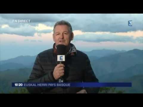 Édition spéciale en direct d'Iraty - France 3 Euskal Herri Pays basque