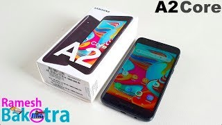 Samsung Galaxy A2 Core Unboxing and Full Review
