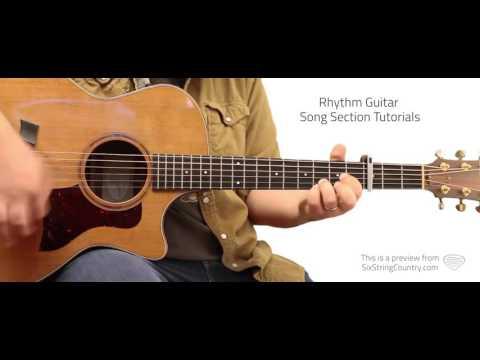 Hurricane Guitar Lesson and Tutorial - Luke Combs