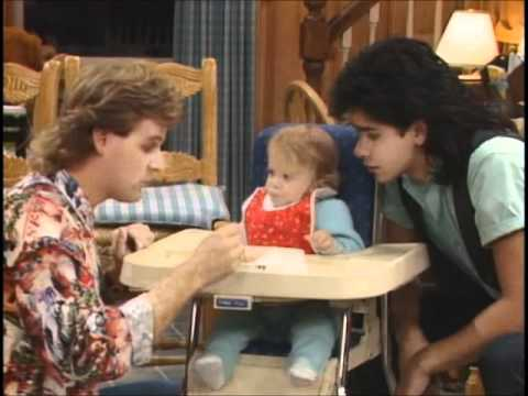 Full House Cute Funny Michelle Clips From Season 1 Part