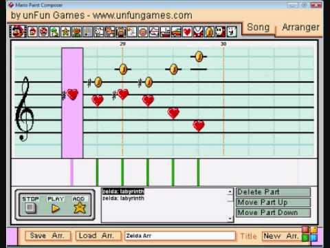 Misc Computer Games - Zelda Labrynth
