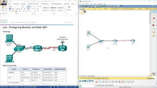 9.2.2.6 Lab - Configuring Dynamic and Static NAT