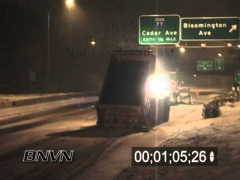 12/16/2003 MN/DOT Snow Plow Accident Video