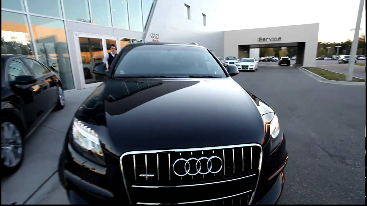 2011 Audi Q7 S Line 333hp Orca Black Metallic Every