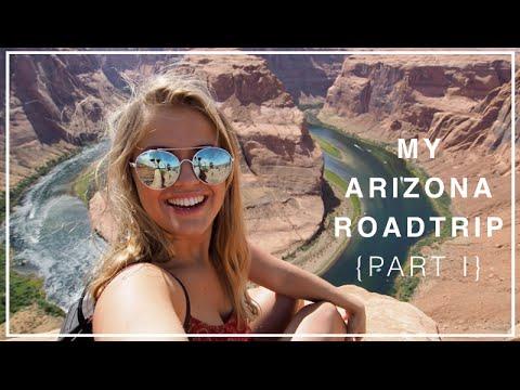 My Arizona Roadtrip {Part 1} - Sedona, Flagstaff, Page, Antelope Canyon FAIL + Horseshoe Bend #1