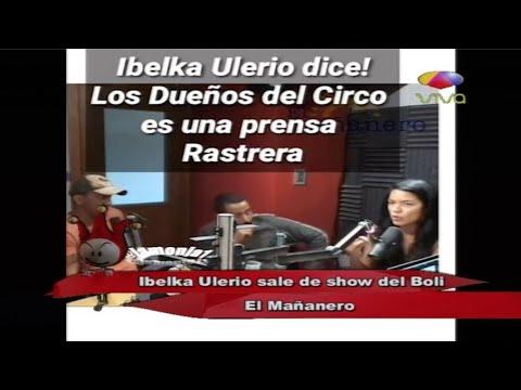 Los dueños del Circo TV comentan sobre la salida de Ibelka Ulerio del Mañanero