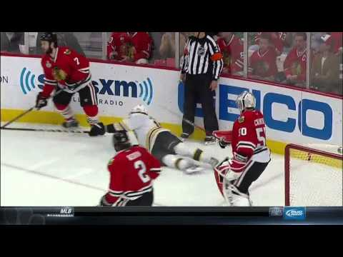 NBC Sports Post Game Report part 1. 6/15/13 Boston Bruins vs Chicago Blackhawks NHL Hockey