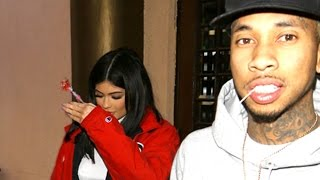 Kylie Jenner Meets Tyga For Dinner At Fogo de Chao