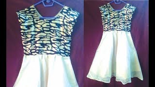 Frock, Long frock cutting, Simple Umbrella baby FROCK dresses for girls cut and stitch tutorial