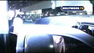 Nicky Hilton & David Katzenberg At Mr Chow.
