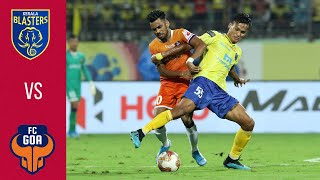 ISL 2019-20 Highlights M29:  Kerala Blasters Vs FC Goa | Hindi