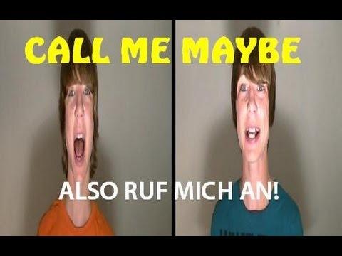 call Me Maybe - Auf Deutsch! (carly Rae Jepsen) video