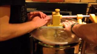 Honey extraction at home using a spin extractor