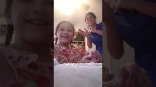 Daughters funny slime show