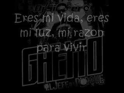 De La Ghetto - Es Dificil Lyrics Video