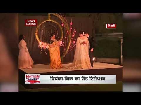Priyanka Chopra, Nick Jonas host wedding reception in Delhi