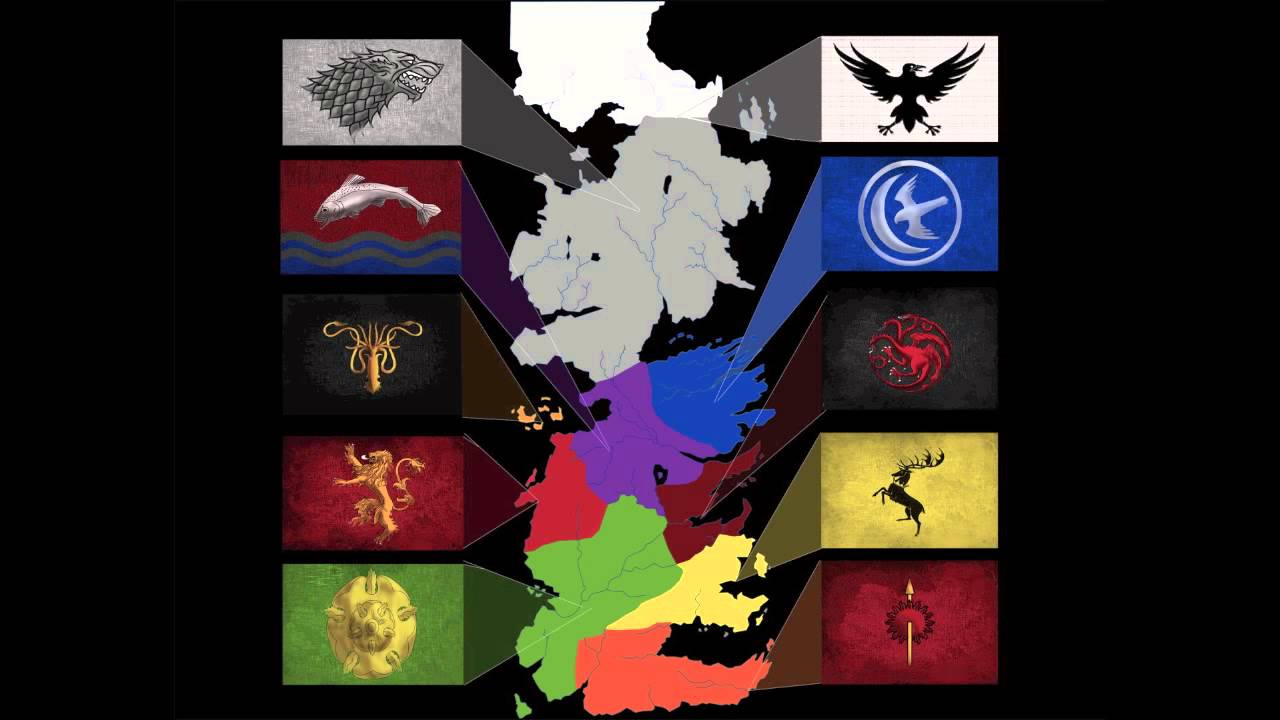 Surveying The Seven Kingdoms Interactive Map Youtube