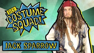 Make Your Own Captain Jack Sparrow - DIY Costume Squad