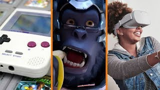 Game Boy Classic Edition Soon? + Activision Downgraded Over Overwatch + New Oculus GO for $200