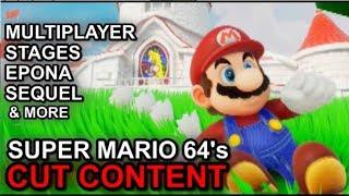 Mario 64's Cut Content - Epona, Multiplayer, Levels - Dr Lava #12
