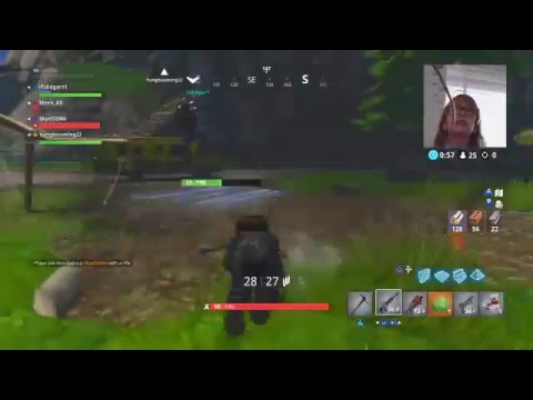 WHY DO I SUCK AT THIS GAME #fortnite 2 KEELEY AND ALI